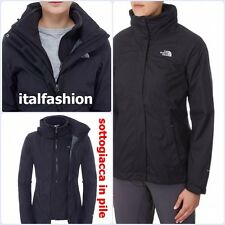 EVOLVE II TRICLIMATE 3-IN-1 JACKET GIACCA THE NORTH FACE DONNA NERO BLACK