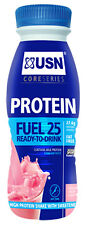 USN Protein Fuel 25 8 X 330ml High Protein Low Carb & Fat Ready To Drink Shake