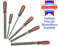 FAITHFULL Engineers Metal Hand Files Bastard/Second Cut/Wood Rasp Choose Size