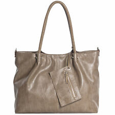 Maestro Surprise Handtasche  Bag in Bag Shopper Damen Handtasche 45 cm