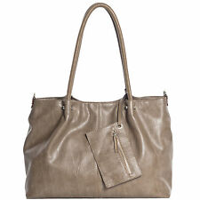 Maestro Surprise Handtasche Bag in Bag Shopper Damen Handtasche 35 cm