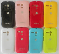 Motorola Moto G XT1032 Logo Back Case Cover Back Shell Case Cover Glossy Stylish