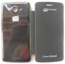 OG MICROMAX CANVAS ELANZA 2 A121 Leather Case Flip Flap Mobile door Case Cover