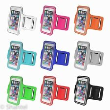 RUNNING JOGGING SPORTS GYM ARMBAND CASE COVER HOLDER FOR IPHONE 6 S / 6 PLUS S
