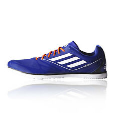 Adidas Adizero Cadence 2.0 Mens Blue Running Athletics Spikes Sports Shoes