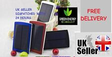 12000mAh Solar Panel Power Bank External USB Battery Charger iphone 4,5.6 ipad