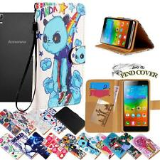 For Lenovo Golden Warrior A8 S8 Note8 -Leather Wallet Card Stand Flip Case Cover