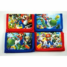 Super Mario Bros. Kids Boys Childs Purse Coins Wallet Party Bag + GIFT