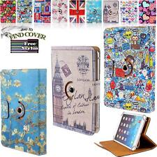 Rotating Stand Wallet Leather Cover Case For Various Mediacom SmartPad / WinPad