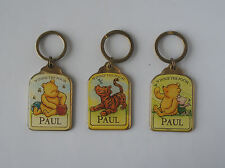 DISNEY PORTACHIAVI 'PAUL' - WINNIE THE POOH & FRIENDS DESIGN SMALTATO