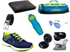 ABZ COMBO OF SHOES+GYM BAG+BELT+WALLET+SUNGLASSES+SOCKS+EARPHONES+SIPPERS-4