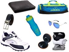ABZ COMBO OF SHOES+GYM BAG+BELT+WALLET+SUNGLASSES+SOCKS+EARPHONES+SIPPERS-11