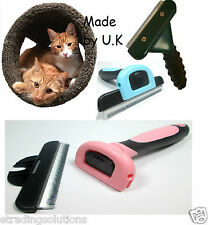 Deshedding Tool Grooming Pet Hair Moulting Fur Brush 4 Horses Dogs Cats Rabbits*