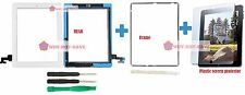 Outer Touch Glass Digitizer Replacement Screen Part for Ipad 2nd 2 + frame tools