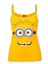 Despicable Me Strap-Top Shirt Minion Dave - gelb, 100 % Baumwolle.