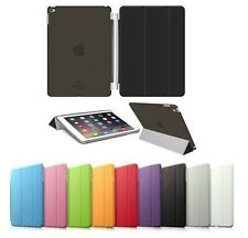 CUSTODIA IPAD 2 3 4 PER SMART COVER APPLE PIEGHEVOLE BACK CASEMAGNETICA SLIM