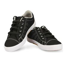 Unistar Black Coloured Canvas Shoes(5002-Blk)