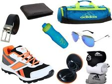 ABZ COMBO OF SHOES+GYM BAG+BELT+WALLET+SUNGLASSES+SOCKS+EARPHONES+SIPPERS-20
