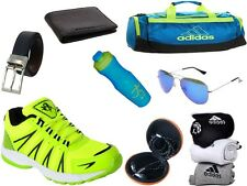 ABZ COMBO OF SHOES+GYM BAG+BELT+WALLET+SUNGLASSES+SOCKS+EARPHONES+SIPPERS-22