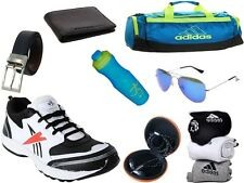 ABZ COMBO OF SHOES+GYM BAG+BELT+WALLET+SUNGLASSES+SOCKS+EARPHONES+SIPPERS-28