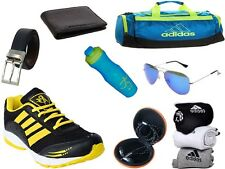 ABZ COMBO OF SHOES+GYM BAG+BELT+WALLET+SUNGLASSES+SOCKS+EARPHONES+SIPPERS-30