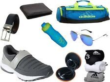 ABZ COMBO OF SHOES+GYM BAG+BELT+WALLET+SUNGLASSES+SOCKS+EARPHONES+SIPPERS-35