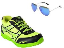 ABZ COMBO OF RUNNING SHOES+BRANDED SUNGLASSES-16