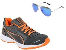 ABZ COMBO OF RUNNING SHOES+BRANDED SUNGLASSES-18