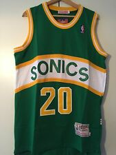 Canotta nba basket maglia Gary Payton jersey Seattle Supersonics S/M/L/XL/XXL
