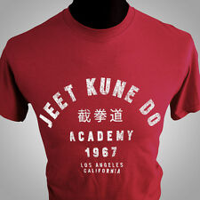 Jeet Kune Do Bruce Lee T Shirt Martial Art Kung Fu MMA Karate Enter the Dragon r