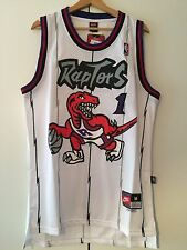 Maglia canotta NBA basket Tracy McGrady Jersey Toronto Raptors New S,M,L,XL,XXL