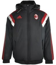 Adidas A.C.MILAN Padded Jacket Coat 2014 F83754 Sizes XS,SMALL,MEDIUM,LARGE,XL
