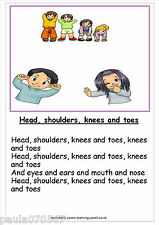 A4 Posters Nursery Rhymes 45 designs ~Learning & Story time for EYFS - KS3