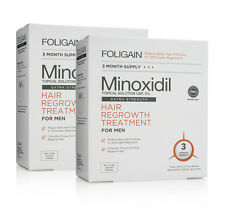 FOLIGAIN P5 ULTRA PURE 5% MINOXIDIL Hair Growth Treatment MEN 3 - 6 MONTH SUPPLY