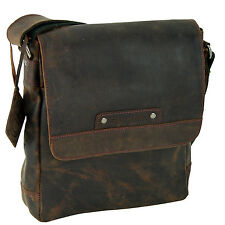 Greenburry Vintage Revival Vol.2 Messenger Schultertasche Leder 24 cm