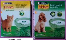 PROMO : FRISKIES ANTI-PUCES Tiques Vers Chats, Chiens : COLLIERS, COMPRIMES NEUF
