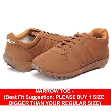 Unistar Tan Running Walking (NarrowToe) Shoes (634-Tan)