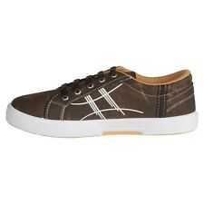 Unistar Brown Canvas Shoes (5005-Brown)