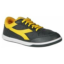 Unistar Black Yellow Canvas Shoes (6002-BlackYellow)