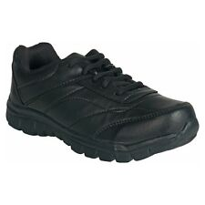 Unistar Black Walking Shoes (ST-01-Black)