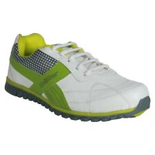 Unistar White, Green Running Shoes (TP-02-WhiteGreen)