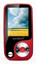 "Reproductor de MP4 -Sunstech Thorn 4 GB Pantalla 1,8"" Radio Ranura Micro SD Rojo"