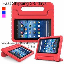 """Kids ShockProof Safe EVA Foam Case Handle Cover Stand for Amazon Kindle Fire 7 """""""