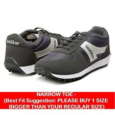 Unistar Jogging, Walking & Running (Narrow Toe) Shoes (602-Grey)
