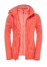 The North Face Donna Triclimate Giacca Zephyr Melone Red