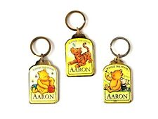 DISNEY PORTACHIAVI 'AARON' - WINNIE THE POOH & FRIENDS DESIGN SMALTATO