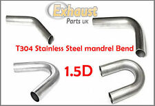 1.5D T304 Stainless Steel Mandrel Bends Exhaust 50.8mm - 2 inch Tight Short
