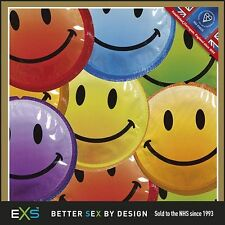 EXS Smiley Face Condoms Foils Bundles - Available in 12, 18, 24, 48 & 60