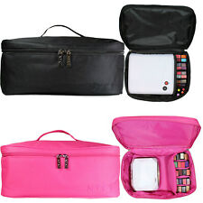 NYK1 Gel Nail Case Bag for Nail Technician or Therapist cosmetics PINK or BLACK