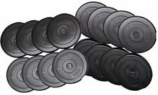 "Weight training plates 20kg 15kg 10kg 5kg Weight Lifting Plate 1"" vinyl Weights"